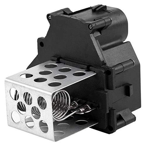 Lyjun Resistor del Motor del soplador, 9649247680 Calentador DE Coche Blower ANIMIENTE Ajuste para Citroen FIT para BERLINGO C1 C4 FIT para XSARA FIT para Picasso (Color : Black)