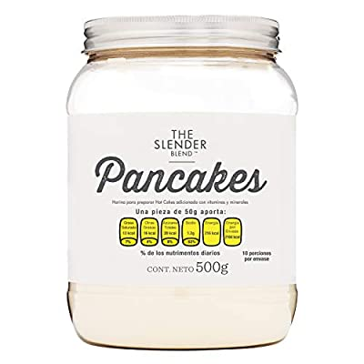 PROTEIN WORLD High Protein Low Sugar Pancake Mix 500g 10 Servings Unflavoured