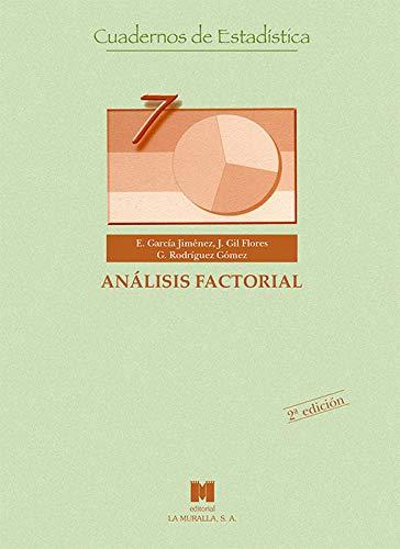 Análisis factorial (Cuadernos de estadística)