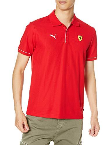 PUMA Ferrari Race Poloshirt für Herren XXL rot