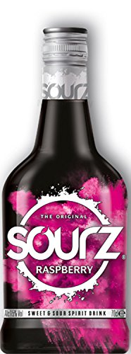 Sourz Raspberry Likör 0,7l 700ml (15% Vol) -[Enthält Sulfite]