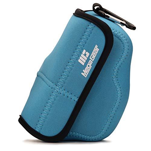 MegaGear MG1818 Ultra Light Neoprene Camera Case Compatible with Nikon Z50 (16-50mm) - Blue