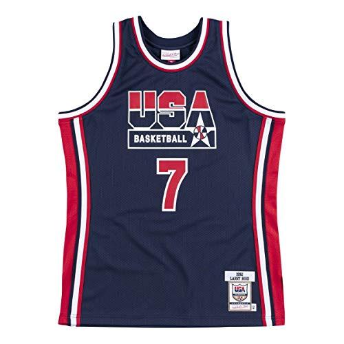 Mitchell & Ness Maillot authentique Team USA NBA Larry Bird