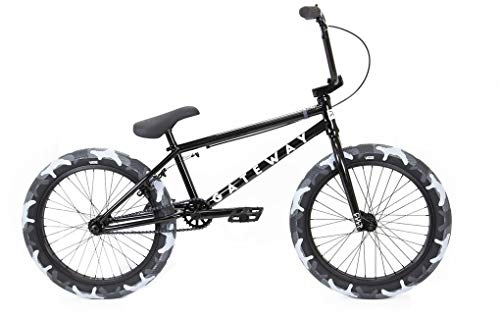 Cult Gateway 20' 2020 BMX Freestyle (20.5' - Negro)