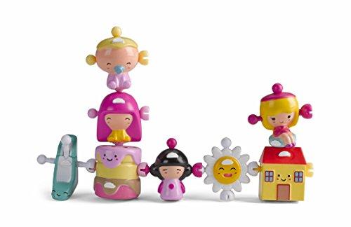 Famosa Figura Wizies Pack 7 Figures y 1 Especial, Muñeca Casa