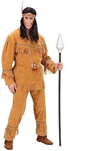 WIDMANN Desconocido Disfraz de Indio Apache Lujo Adulto