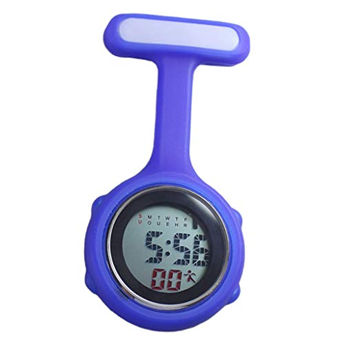 F Fityle Enfermera Médica Paramédica Broche con Clip Reloj De Bolsillo Eléctrico...