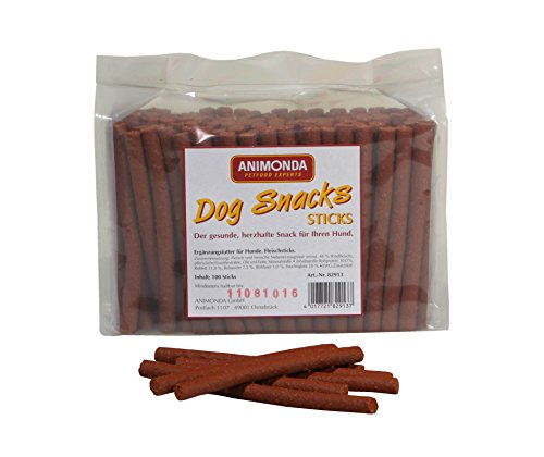 Animonda Dog Snacks Fleischsticks, 1er Pack (1 x 100 Sticks)