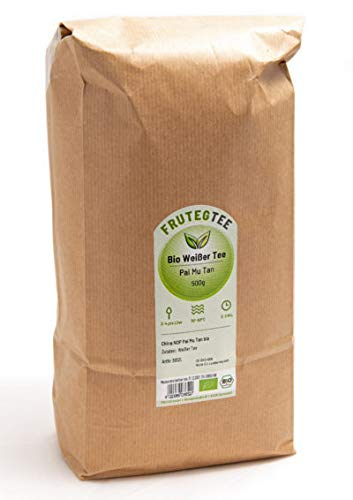BIO Pai Mu Tan cut Weißer Tee, 1000g / 1kg