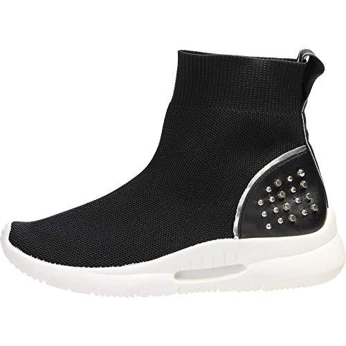 Luckycat Deportivo Piel Plataforma Mujer Zapatos Planos con Cordones Mujer Brogue Zapato Mujer Mocasines Plataforma Casual Loafers Primavera Verano Zapatos de Cuña 5cm 6 cm Tallas Grandes Botas (Ropa)