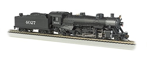 Price comparison product image Bachmann Industries Trains Usra Light 2-8-2 Dcc Ready Frisco 4027 With Medium Tender Ho Scale Steam Locomotive