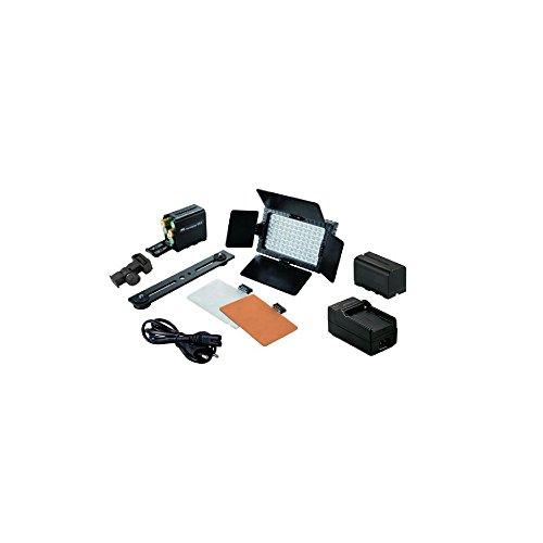 Falcon Eyes Kit Torche LED Lamp DV-160V-K2 + Batterie + Chargeur + Supports