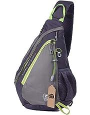 EGOGO Multifunctionele Sling Rugzak Schoudertas Fietsrugzak Shoulder Sling Bag E300-5 (Grijs)