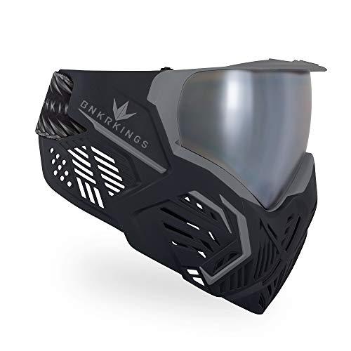 Bunkerkings CMD Paintball-Schutzbrille / Maske – Black Panther