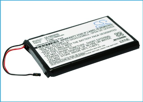 Replacement Battery for Garmin Nuvi 2597 Nuvi 2555LMT Nuvi 2557 Nuvi 2597 LMT 010-01316-00 A3AVDG03 Nuvi 2405 Nuvi 2405LT Nuvi 2447 Nuvi 2447 LMT