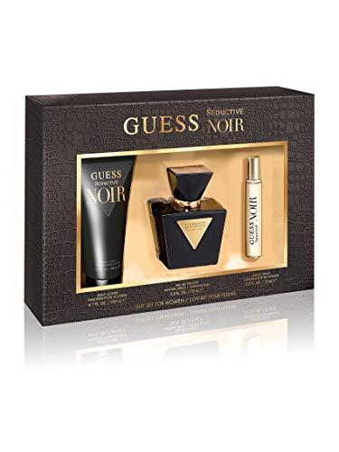 Guess Guess Seductive Noir For Women 3 Pc Gift Set
