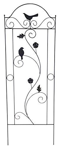 Metall Rankgitter C - mit Vögeln