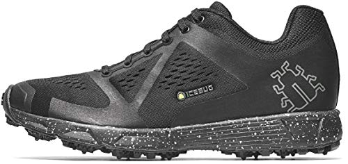 cheap Men's Ice Bug Sneakers – Ice and Snow Covered Outsole: DTS4 BUGrip Men's Outdoor Training Trail Shoes, Black / Gray, 10.5