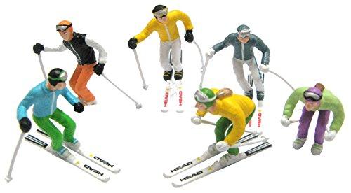 Jaegerndorfer jaegerndorferjc54400stehend Figuren mit Head Ski und Stöcke (6-teilig)