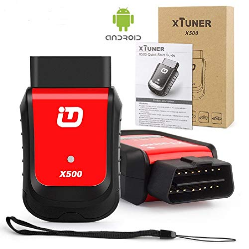 MTBL Xtuner X500 Bluetooth Android Universal Diagnosegerät OBD-II Motor Diagnosewerkzeuge für Motor, ABS, Akku, DPF, EPB, Öl, TPMS, IMMO Auto Code Reader Scanner