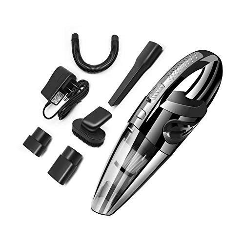 TOPofly Hand Staubsauger, Schnurloses Nass- und Trocken Verwendung Auto-Staubsauger, Set Tragbare Saugstark Desktop-Staubsauger