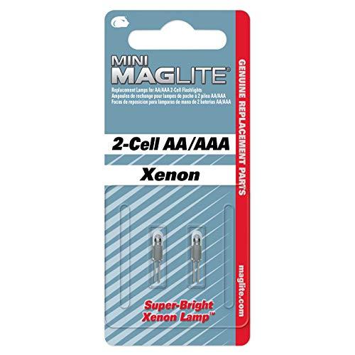 Mag-Lite LM2A001 Xenon Ersatzleuchtmittel für Maglite AA
