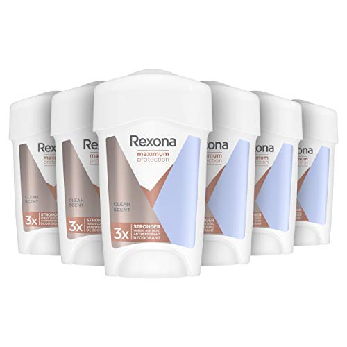 Rexona Maximum Protection Clean Scent Deodorant Stick 6 x 45 ml Voordeelverpakking