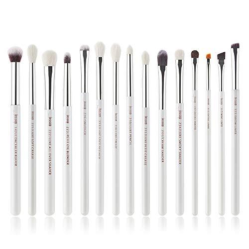 Jessup Augen Make Up Pinsel Sets 15 Pcs Schmink Kosmetik Bürsten Lidschatten Eyeshadow Concealer Puder T237