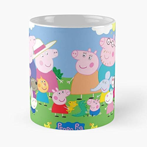 Drawings Series Childish Little Animals Peppa Family Pig Ori