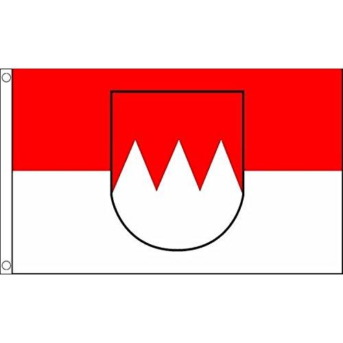 AZ FLAG Flagge Franken 150x90cm - Franken Fahne 90 x 150 cm - flaggen Top Qualität