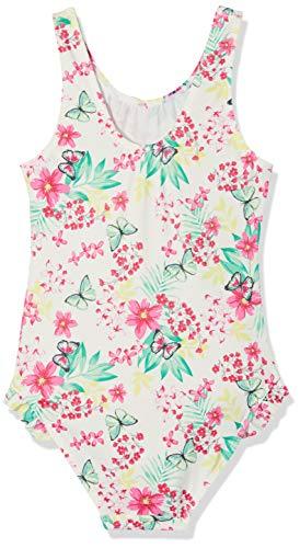 Sanetta Mädchen Swimsuit Badeanzug, Rosa (Candy 3969), 116