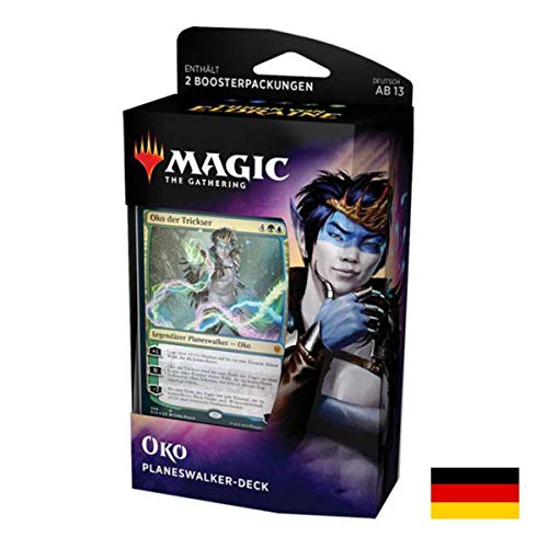 Lively Moments Magic The Gathering Karten Planeswalker Deck Thron von Eldraine - Oko Deutsch DE