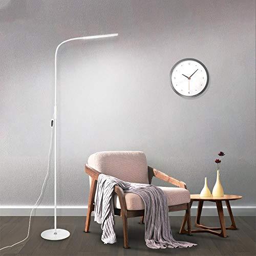 lámpara de pie led sala de estar dormitorio estudio piano práctica piano lectura dedicada protección para los ojos lámpara de mesa vertical modelo enchufable luz tricolor