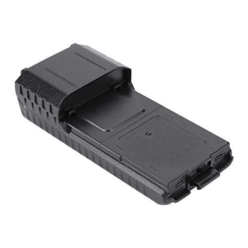 Kudoo Estuche de batería de plástico Duradero, Estuche de batería Largo, Resistente al Desgaste Pequeño para UV-5R, UV-5RB, UV-5RE, UV-5RE + BAOFENG