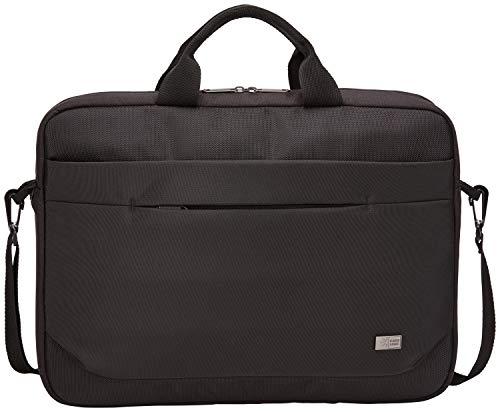 Case Logic Advantage Attaché laptoptas met sleuf voor tablet en voorvak voor kleine apparaten zwart, zwart (zwart) - ADVA-117 BLACK