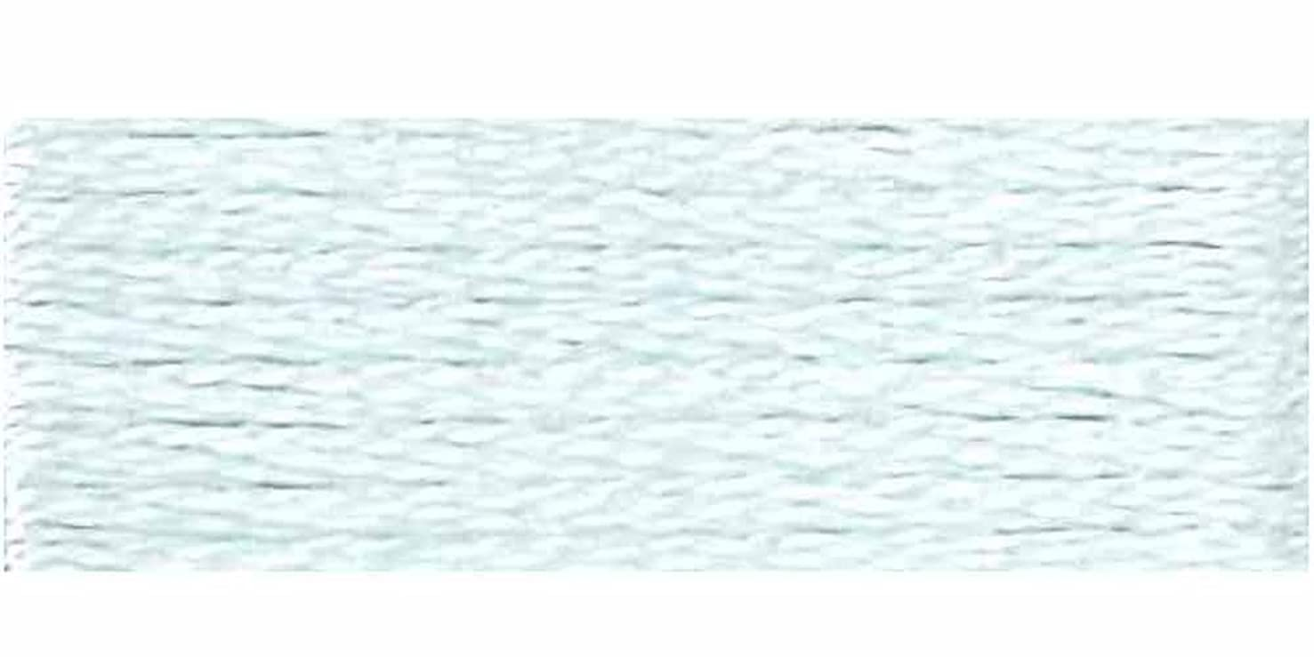 DMC 6-Strand 12-Pack Embroidery Cotton Floss, Very Light Sky Blue ,Pack of 12