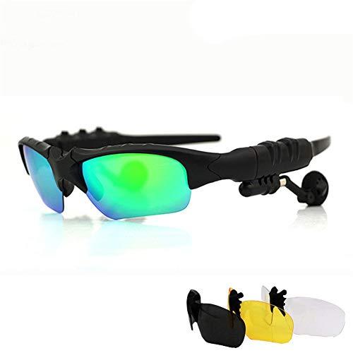 Lhj Smart Bluetooth bril headset draadloze headset telefoon luisteren lied sport driver rijden zonnebril gepolariseerde zonnebril
