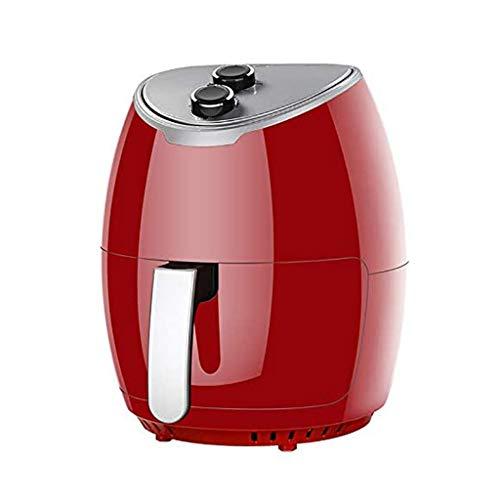 BL Freidora de Aire roja, circulación de Aire de Alta Velocidad de 360 ° con Revestimiento de cerámica Nano y Cocina sin Aceite y Baja en Grasa 4l, 1400 w, freidora de Aire Caliente