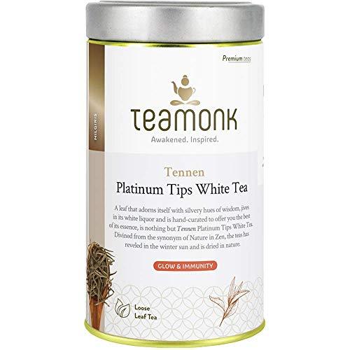Teamonk Nilgiri Silver Needle White Tea for Glow and...