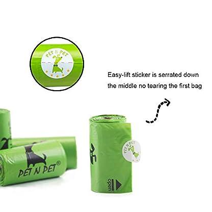 PET N PET Dog Poo Bags 720 Counts Dog Waste Bags With Dispenser Biodegradable Poop Bag Rolls 5