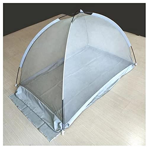 Pabellón De Cama EMF,Natural,Transpirable,Versátil De Fibra De Plata De Protección EMF Torres De Celdas/WiFi/Blindaje De Radiación Inteligente (Cuna)(Size:120x78x75cm)