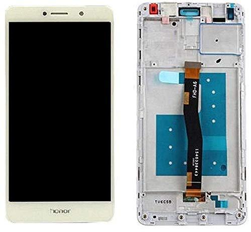 LCD Display für Huawei Honor 6X Touch Screen Bildschirm Rahmen Weiß/Werkzeug