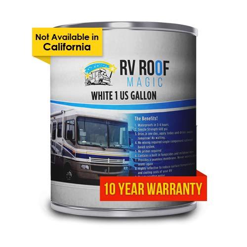 RV Roof Magic Leaks White Waterproof