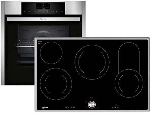 Neff VS 811 Set Einbau Backofen + Glaskeramik Kochfeld Herd Backofenset Küche