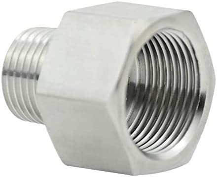 beduan Garden Hose Adapter 3 4 GHT Female x 1 2 NPT Male Connector GHT to NPT Adapter Stainless product image