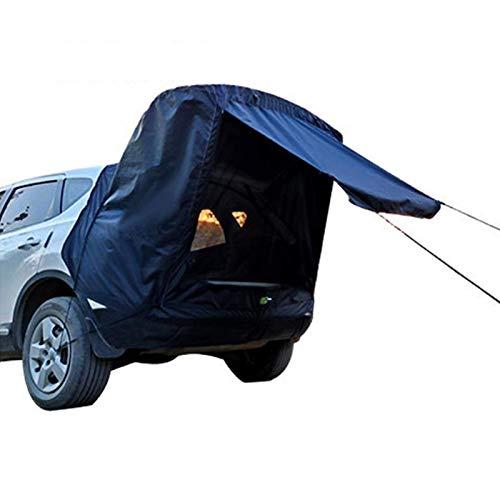 AoFeiKeDM Tienda de extensión para el techo del coche, todoterreno, autoconducción, para exteriores, versatilidad, toldo impermeable, apto para minivan Hatchback camión, camping, viajes