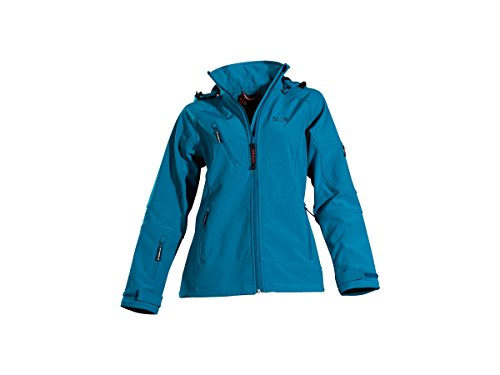 Owney Matu Hood Softshell Damen Jacke petrol XS
