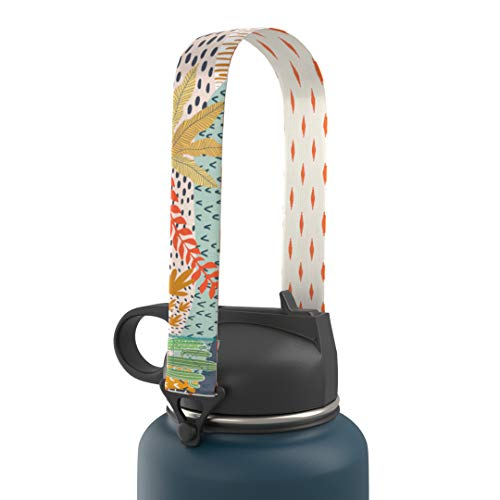 Chill. Water Bottle Holder with Strap, Safari