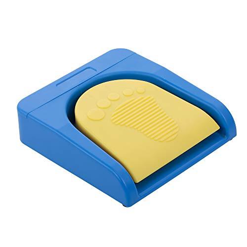 Docooler Pedal de pie Multifuncional Personalizado,Interruptor de pie inalámbrico Bluetooth Soporte Bluetooth/Conexión por Cable para Control de Juegos de adquisición de imágenes