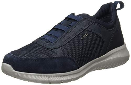Geox Herren U MONREALE C Sneaker, Navy, 43 EU